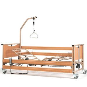 Burmeier Pflegebett Luna Basic 2 mit Aufrichter &Trapez