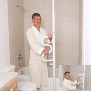 Bodendeckenstange Pole Badezimmer Hilfsmittel