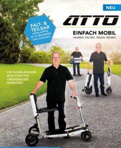 Elektromobil Atto Falt und Teilbar