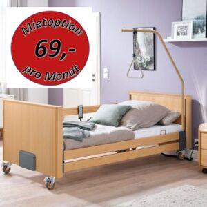 Burmeier Pflegebett Dali Low Econ