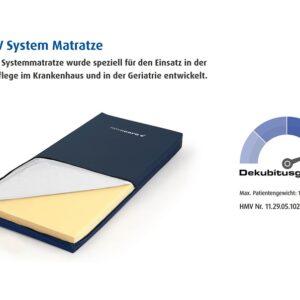 Novacare Elatex V-Systemmatratze