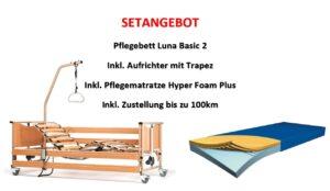 Setangebot Pflegebett Luna Basic 2