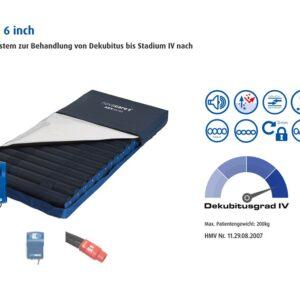 Novacare ASX Digital 6 inch Wechseldruckmatratze