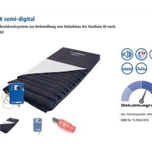 Novacare ASX semi-digital Wechseldruckmatratze